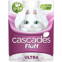 Cascades Fluff Bathroom Tissue