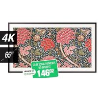 Samsung 4K Smart Tv the Frame 2019-65''