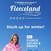 Fabricland - Member Exclusive - Fleeceland Flyer