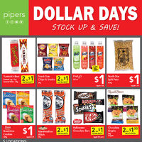 Pipers - Weekly - Dollar Days Flyer