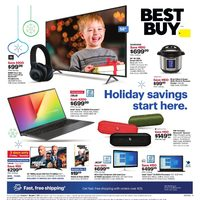 - Weekly - Holiday Savings Start Here Flyer