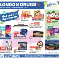 London Drugs - 6 Days of Savings - Get Set For The Season Flyer