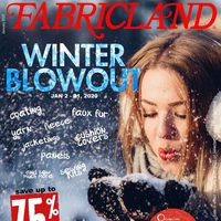 Fabricland - Winter Blowout Flyer