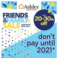 Ashley HomeStore - Friends & Family Sale Flyer