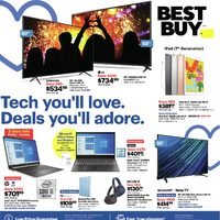 - Weekly - Tech You'll Love. Deals You'll Adore. Flyer