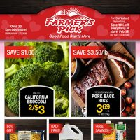 Farmers Pick - 2 Weeks of Savings Flyer