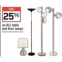 All Table And Floor Lamps
