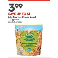 Baby Gourmet Organic Cereal
