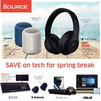 - 2 Weeks of Savings - Save On Tech For Spring Break Flyer