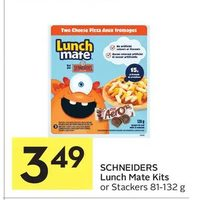 Schneiders Lunch Mate Kits Or Stackers