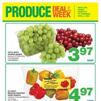 Wholesale Club - Produce & Sweet Deal of The Week Flyer