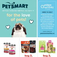 PetSmart - For The Love of Pets! Flyer