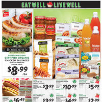 - Eat Well, Live Well Flyer