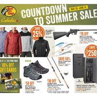 Bass Pro Shops - Countdown To Summer Sale Flyer