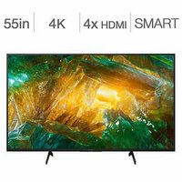 Sony 55 in. HDR XBR55X800H Android Smart TV