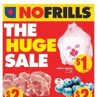 No Frills - Weekly - The Huge Sale Flyer