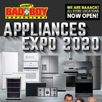 Bad Boy Furniture - Appliances Expo 2020 Flyer