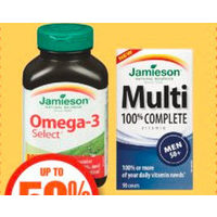 Jamieson Natural Health or Vitamin Products