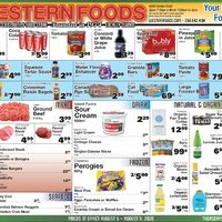 Western Foods - Weekly Specials Flyer