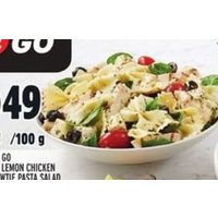Fresh 2 Go Grilled Lemon Chicken With Bowtie Pasta Salad