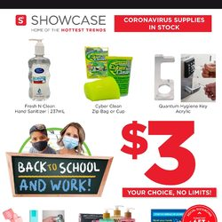 Showcase - Weekend Deals (West/ON/ATL)	 Flyer
