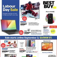 Best Buy - Labour Day Sale Flyer