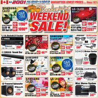 - Thanksgiving Weekend Sale! Flyer