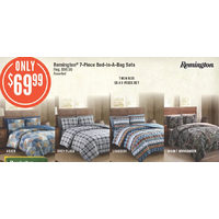 Remington 7-Piece Bed-In-A Bag Sets