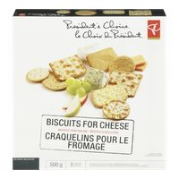 Pc the Decadent Cookies or Pc Biscuits for Cheese