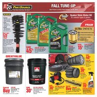 PartSource - Fall Tune-Up Flyer