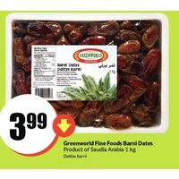Greenworld Fine Foods Barni Dates