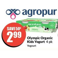 Olympic Organic Kids Yogurt