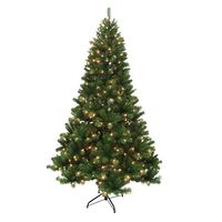 7.5' Franklin Fir Pre-Lit rtificial Christmas Tree