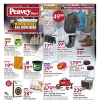 PeaveyMart - Winter Deals Are Now Here Flyer