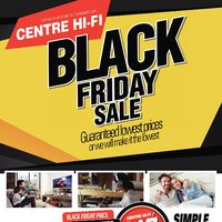 Centre HIFI - Weekly - Black Friday Sale Flyer