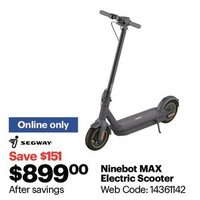 Ninebot by Segway KickScooter MAX Electric Scooter