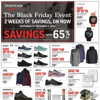 Sport Chek - The Black Friday Event Flyer