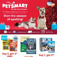 PetSmart - For The Love of Pets - Start The Season of Spoiling! Flyer