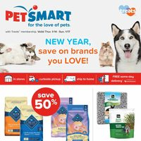 PetSmart - Weekend Savings - New Year, Save on Brands You Love! Flyer