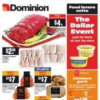 Dominion - Weekly - The Dollar Event Flyer