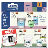 Lowe's - Weekly Deals Flyer