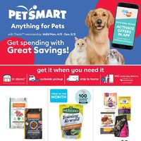 PetSmart - Get Spending with Great Savings! Flyer