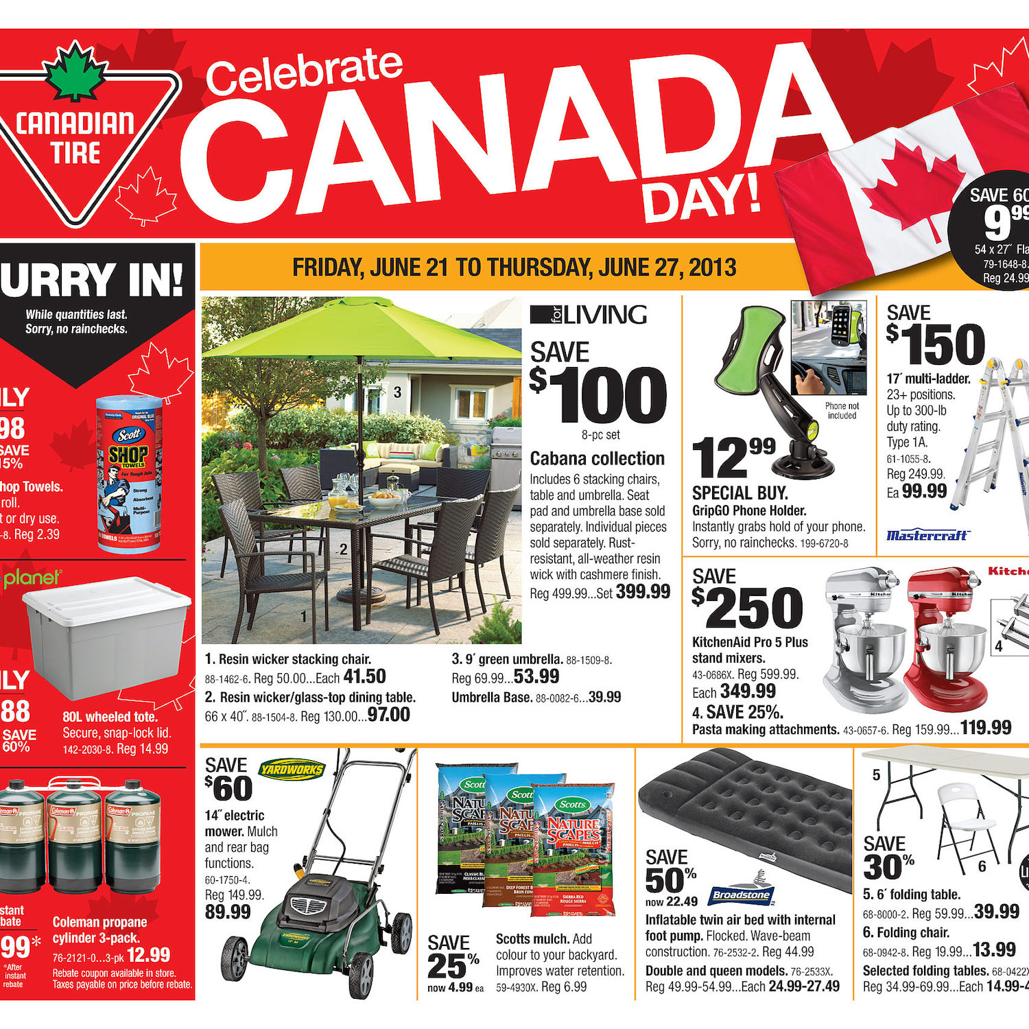 Canadian Tire Weekly Flyer - Weekly Flyer - Jun 20 u2013 27 - RedFlagDeals.com  sc 1 st  RedFlagDeals.com & Canadian Tire Weekly Flyer - Weekly Flyer - Jun 20 u2013 27 ...