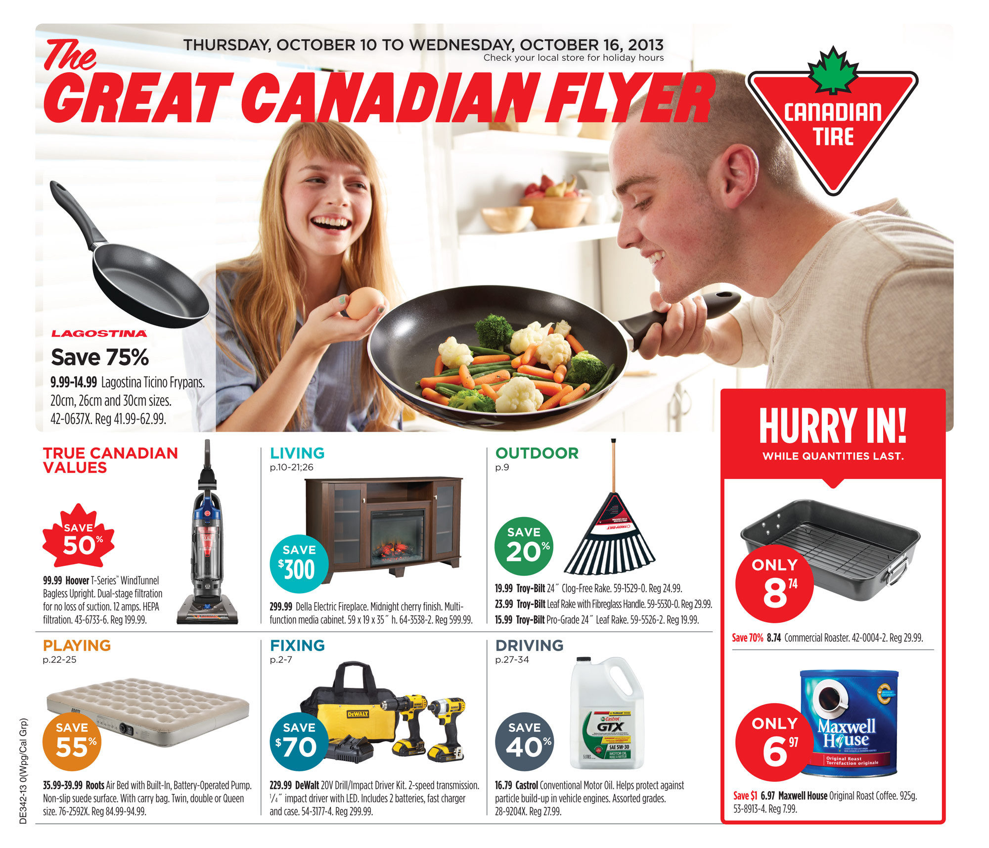 Canadian Tire Weekly Flyer - Weekly Flyer - Oct 9 – 16