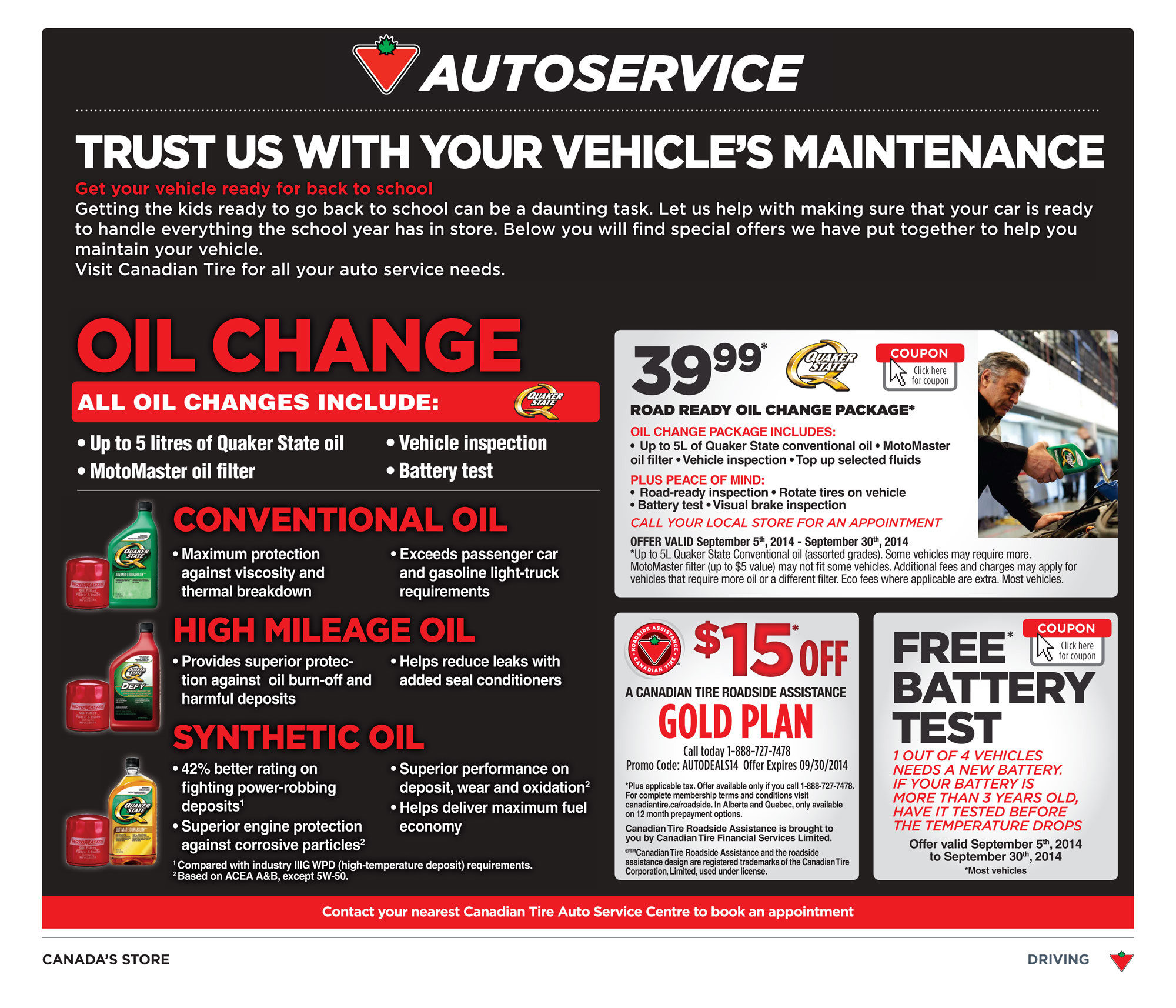 Canadian Tire Weekly Flyer Weekly Flyer Sep 12 18