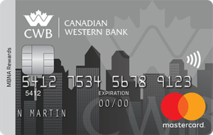 The Canadian Western Bank MBNA Rewards Mastercard® Credit Card