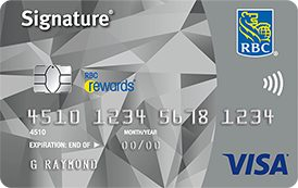 Signature RBC Rewards Visa