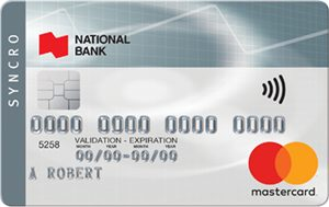 National Bank of Canada MasterCard® Syncro Credit Card