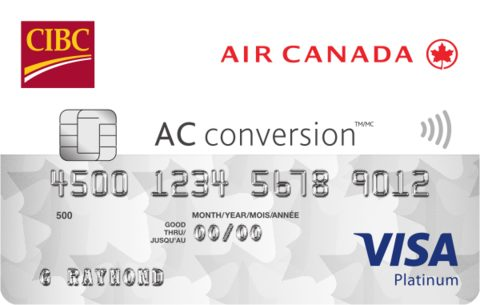 Compare best prepaidsecuredcharge cards in canada redflagdeals cibc air canada ac conversion visa prepaid card reheart Choice Image