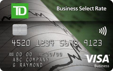 TD Business Select Rate™ Visa* Card